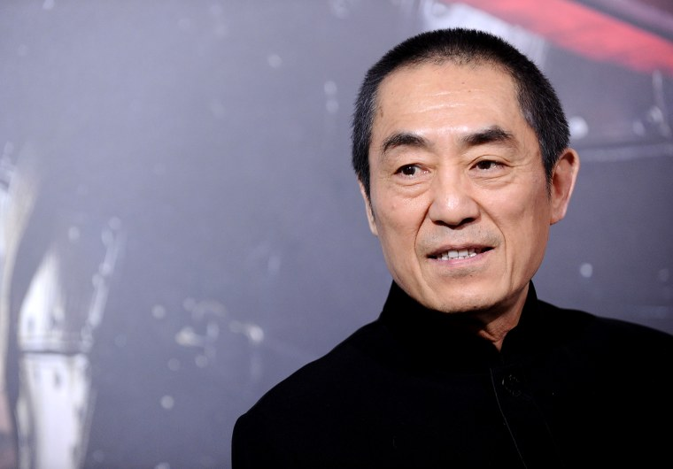 """Image: Director Zhang Yimou attends the premiere of """"The Great Wall"""" in Hollywood on Feb. 15, 2017."""