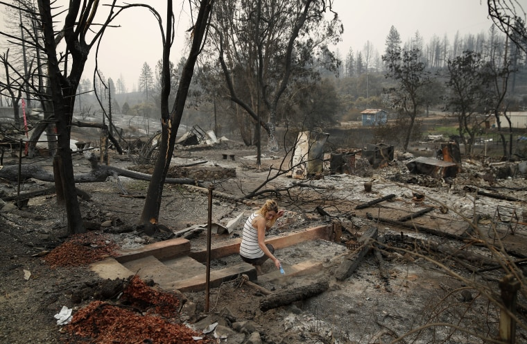Image: Fire aftermath