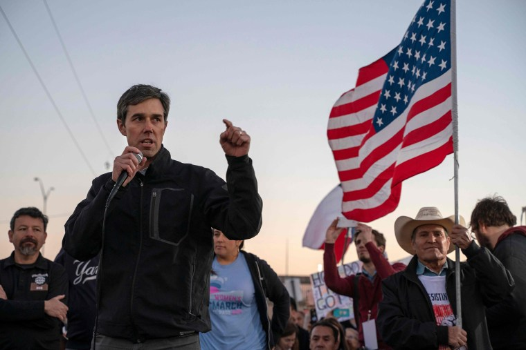 O'Rourke, in Spanish, doesn't rule out being vice presidential candidate