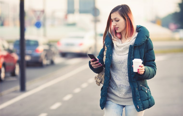 Teenager text messaging