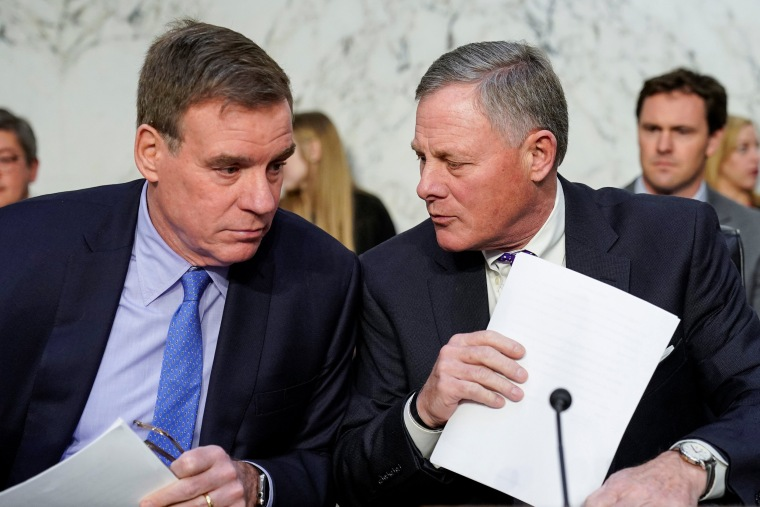 Image: Richard Burr Mark Warner