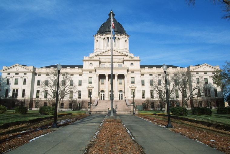 Image: The State Capitol in Pierre, South Dakota.