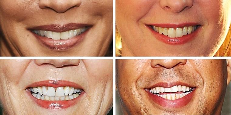 Photo of illustration of smiling candidates.