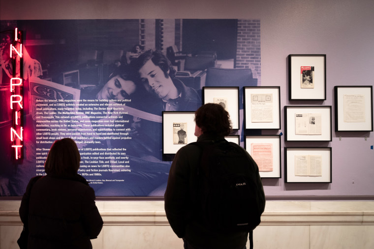 """Image: """"Love & Resistance: Stonewall 50,"""" an exhibition at the New York Public Library."""