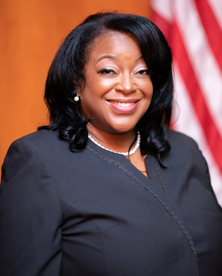 Cassandra Hollemon, one of the 17 black women elected as