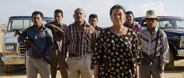 """Image: A still from the film \""""Birds of Passage.\"""""""