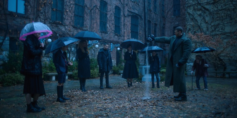 Image: The Umbrella Academy on Netflix