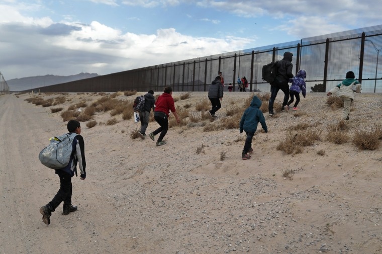 Image: U.S. Customs And Border Patrol Agents Patrol Border In El Paso, TX