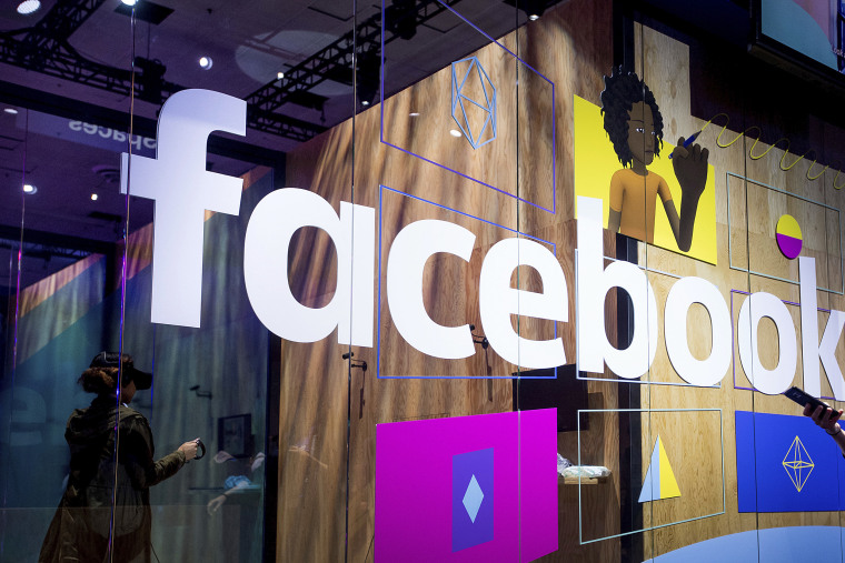 A demo booth at Facebook's annual F8 developer conference on April 18, 2017, in San Jose, California.