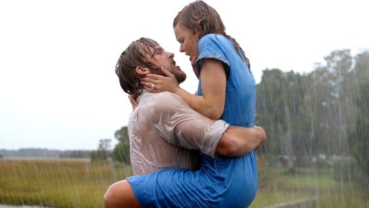 "Ryan Gosling Rachel McAdams in ""The Notebook"""