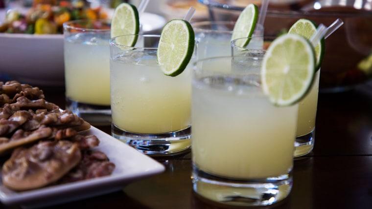 Smollett Siblings Fresh Lime Margarita