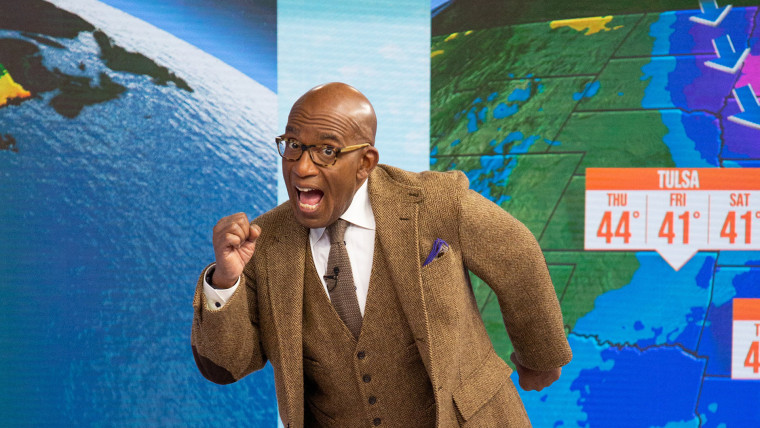 Al Roker, co-anchor and weather and feature anchor for TODAY