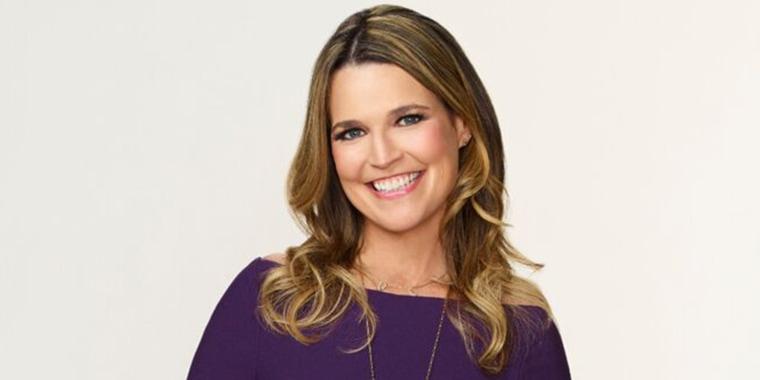 Savannah Guthrie, co-anchor of TODAY