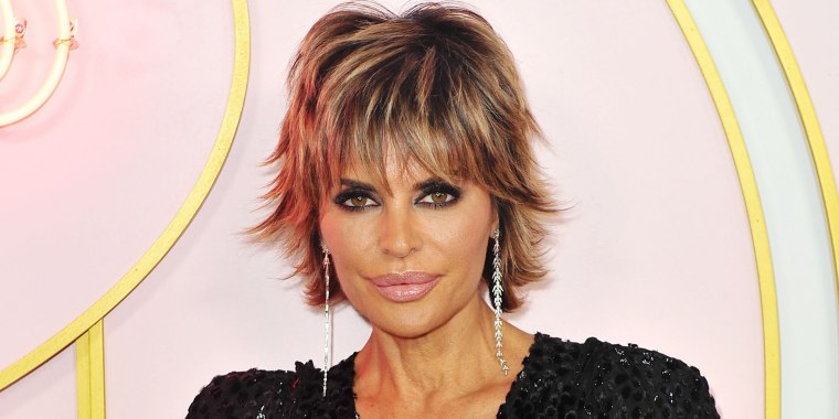 Real Housewives Star Lisa Rinna Rocks New Hairstyle With Gorgeous Wig