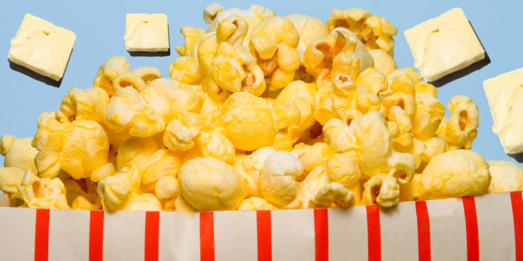 Butter and popcorn