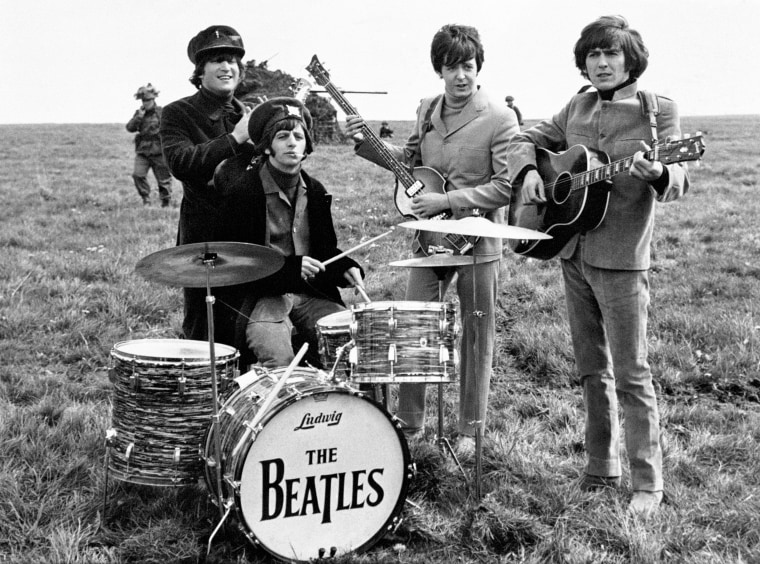 Image: John Lennon, Ringo Starr, Paul McCartney and George Harrison