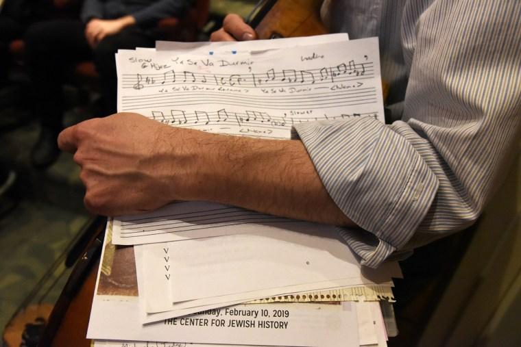 Image: Ladino songs