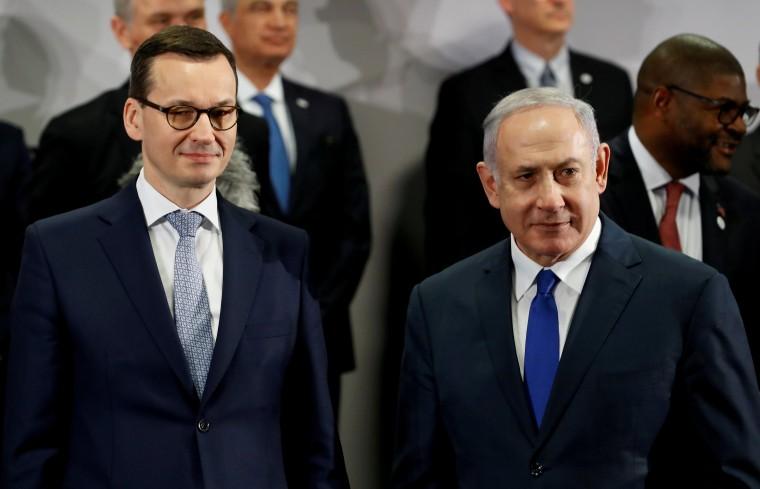 Image: Mateusz Morawiecki and Benjamin Netanyahu