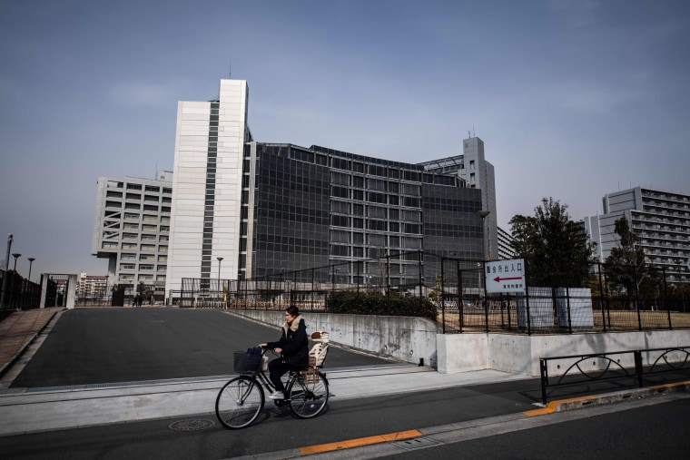 Image: The Tokyo Detention Center where former Nissan chairman Carlos Ghosn is being held after his arrest on Jan. 31, 2019.