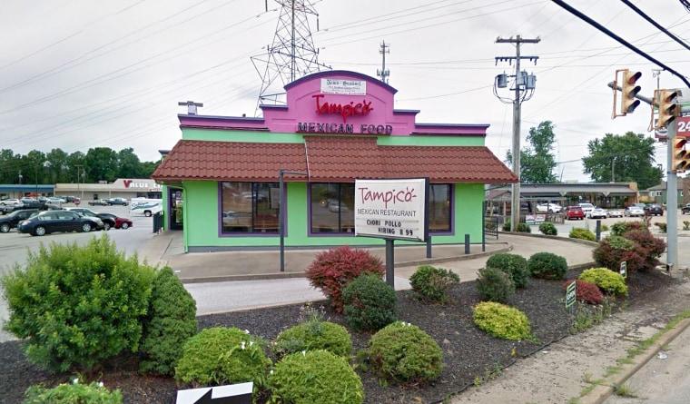 Tampico Mexican Restaurant in Parkersburg, West Virginia.