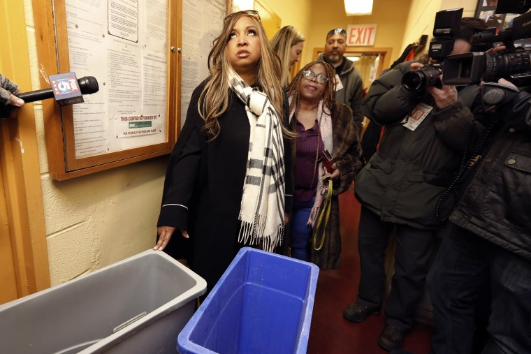 HUD official tours public housing, gets stuck in elevator