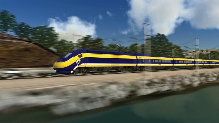 Image: High-Speed Rail Illustration