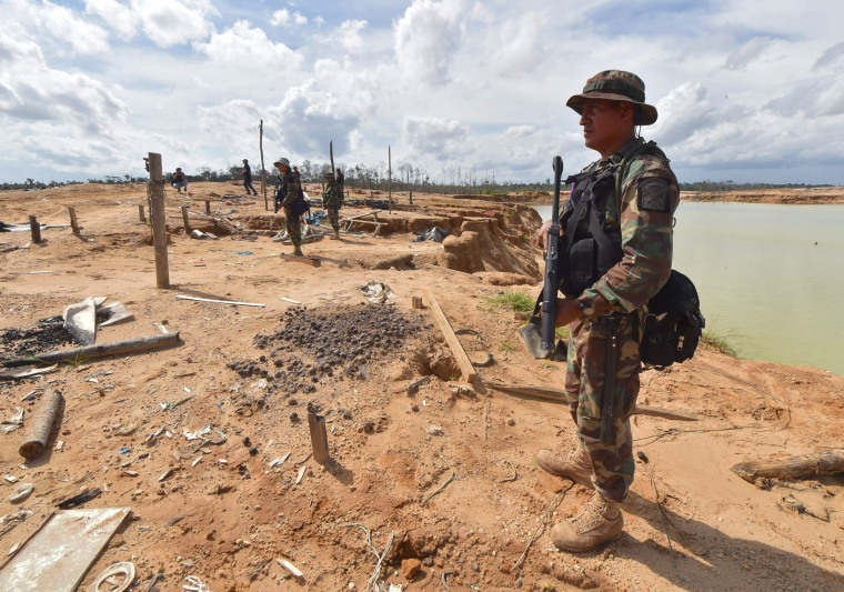 Image: Peru illegal mining