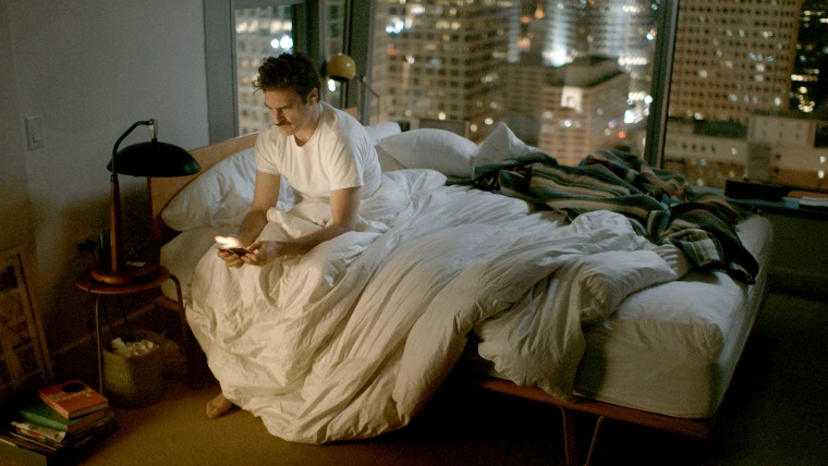 "Joaquin Phoenix in a scene from ""Her."""