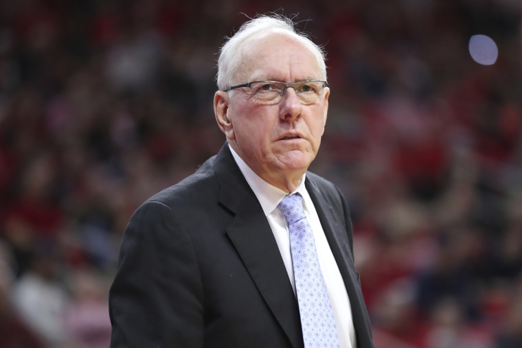 Syracuse basketball coach Jim Boeheim fatally strikes man on interstate with his car