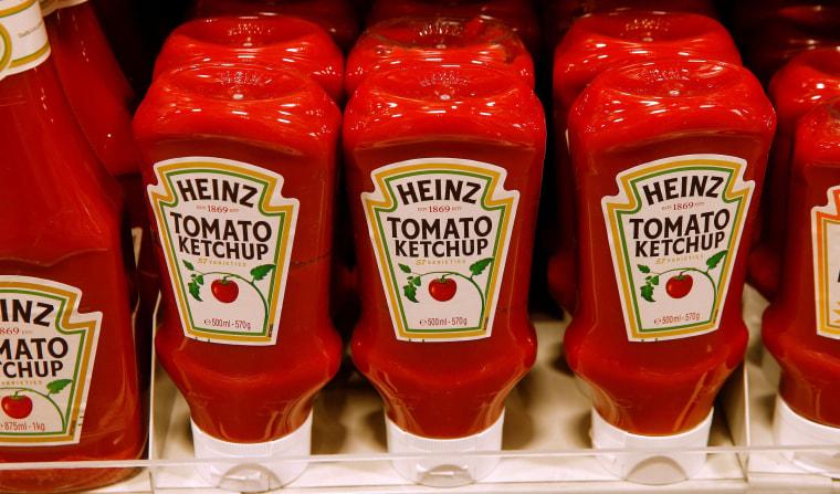 Image: Heinz tomato ketchup