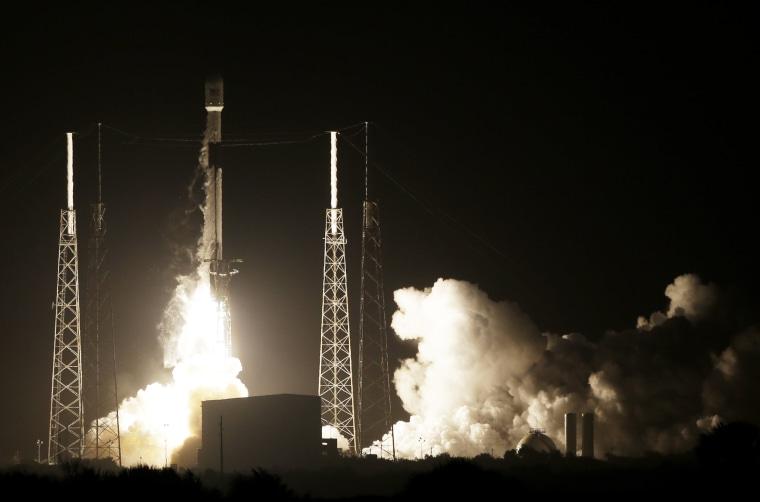 Israel flying to moon for first lunar landing after SpaceX launch