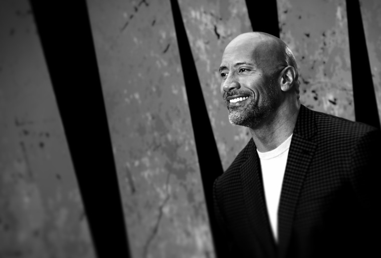 "Image: Dwayne Johnson attends the premiere of ""Rampage"" in London on April 11, 2018."