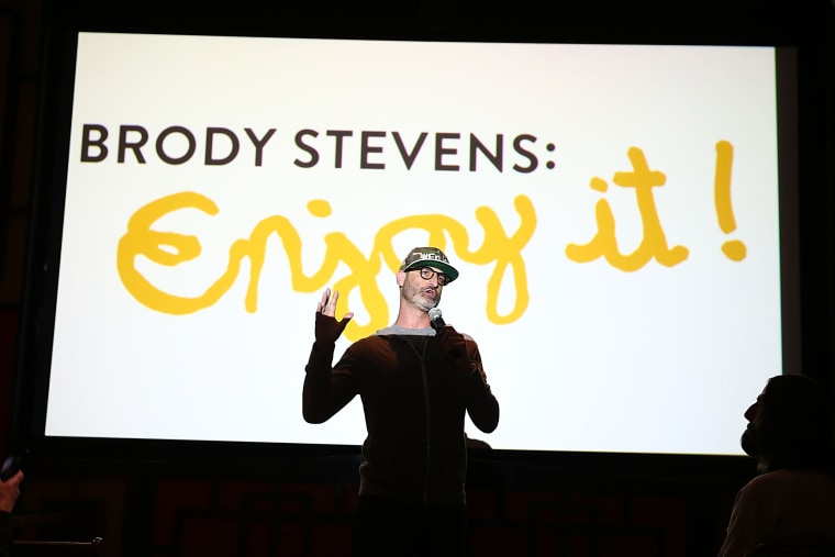"Image: Comedian Brody Stevens Dies At 48 ""Brody Stevens: Enjoy It!"" Premiere Party"