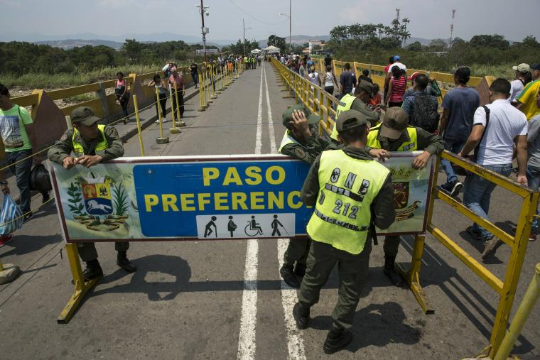 Image: Venezuela, COlombian border