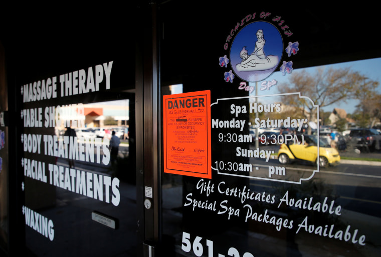 What could be next for massage parlor workers discovered in Florida sex-trafficking bust