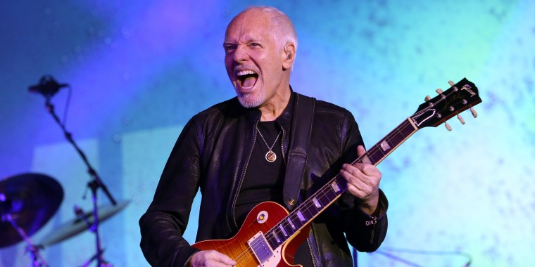 Peter Frampton diagnosed with a muscle wasting disease