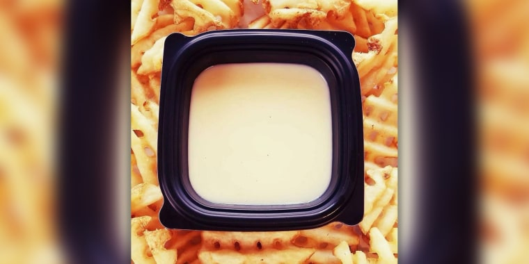 Chick-fil-a has hearts melting for its cheese sauce