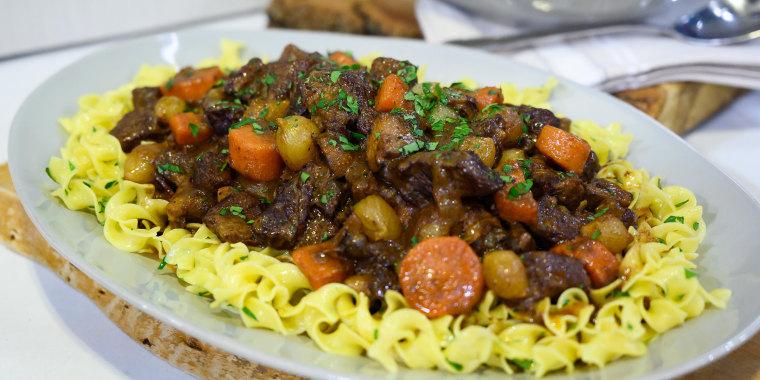 Valerie Bertinelli's Beef Bourguignon