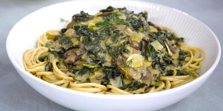 Mark Bittman's One-Pot Stroganoff, Mustardy Mushroom & Kale Stroganoff, Beef Stroganoff with Black Pepper Spaetzle