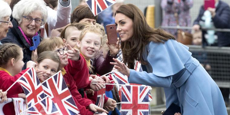 Kate Middleton fashion Northern Ireland