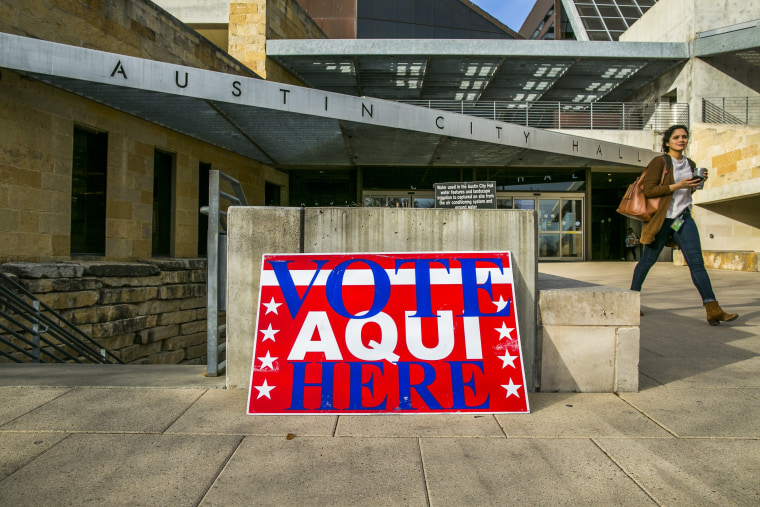 Image: Texas Voters Head To Polls For First Primary For 2018 Midterm Elections