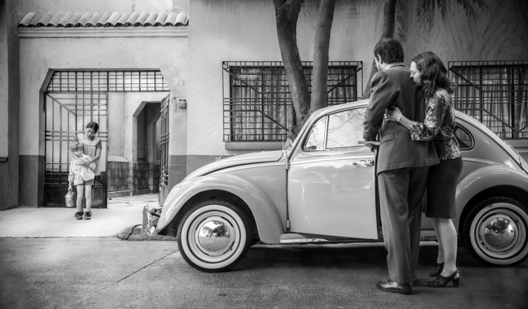 "Image: A still from ""Roma,"" directed by Alfonso Cuaron."