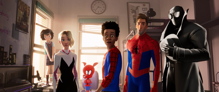 Image: Sony Pictures Animation's SPIDER-MAN: INTO THE SPIDER-VERSE.