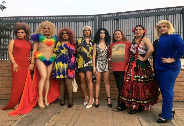 Image: Drag queens from across the Rio Grande Valley of south Texas gathered in Brownsville, Texas, to perform and raise money for LGBTQ asylum seekers.