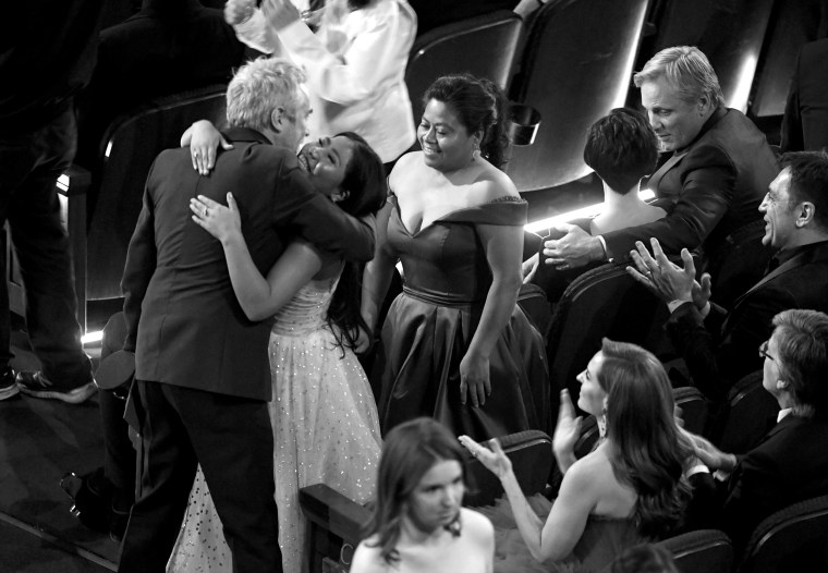 Image: Alfonso Cuaron, Yalitza Aparicio, 91st Annual Academy Awards - Show
