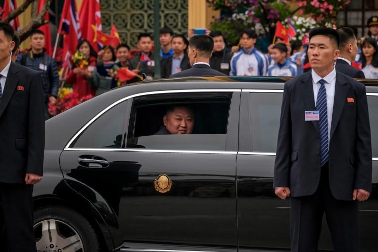 Image: North Korean Leader Kim Jong-Un Arrives In Vietnam Ahead Of The U.S.-DPRK Summit