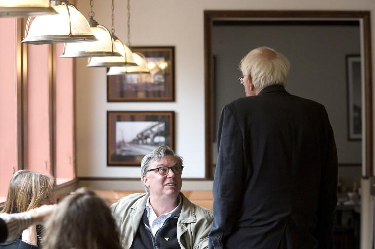 Bernie Sanders, Tad Devine