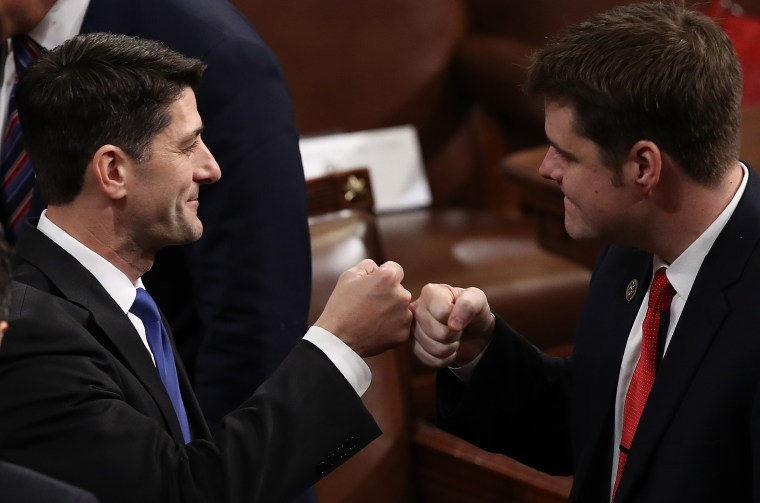 Image: Matt Gaetz, Paul Ryan