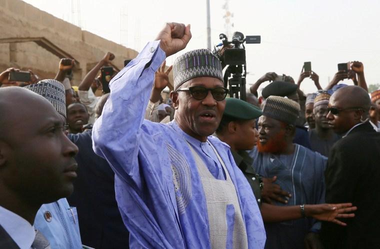 Image: Nigerian President Muhammadu Buhari