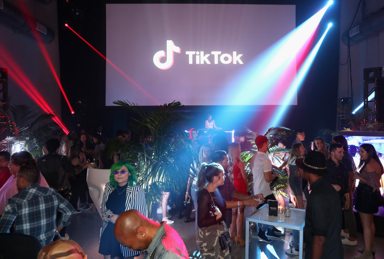 The TikTok U.S. launch celebration